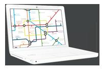 Ilustración del datasheet de Gema en una pantalla de portátil