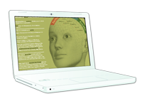 Ilustración del datasheet de myTAO en la pantalla de un portátil