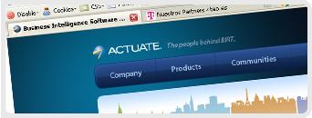 Web de Actuate