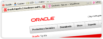Web de Oracle