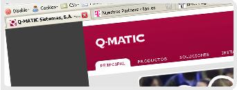 Web de Q-Matic