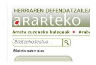 Nuevo portal de Ararteko, Defensoría del Pueblo Vasco